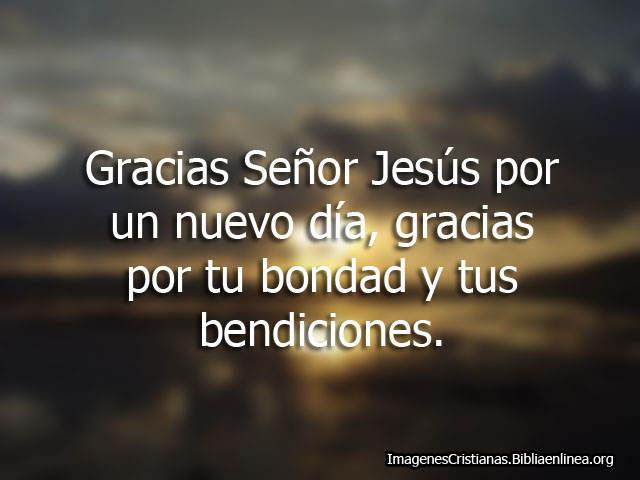 Oraciones de Gracias Imagenes Cristianas