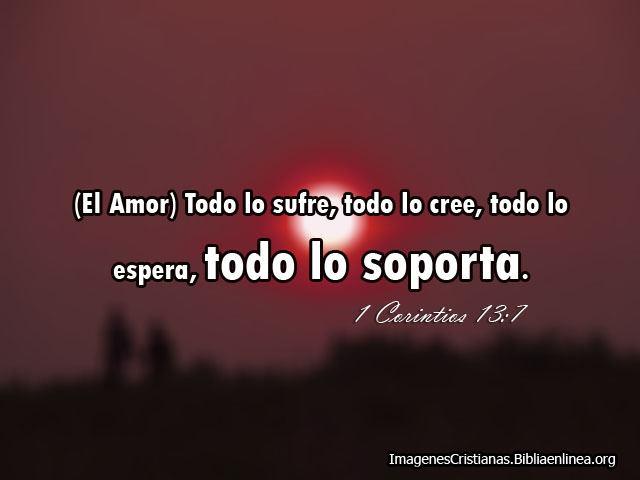 Frase de Amor Segun la Biblia con Imagen