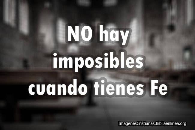 NO hay Imposible Imagenes