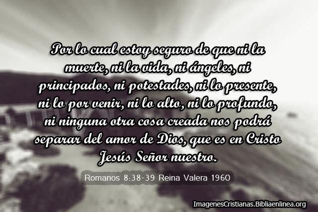 Ni lo alto ni lo profundo nos va a poder separar de Dios