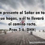 Proverbios: Ten presente al Señor en todo lo que hagas
