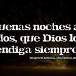 Frases Cristianas De Buenas Noches