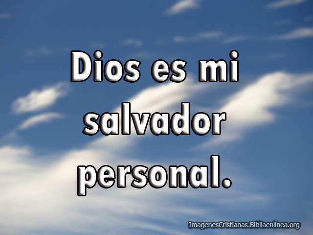 Imagen Dios es mi Salvador