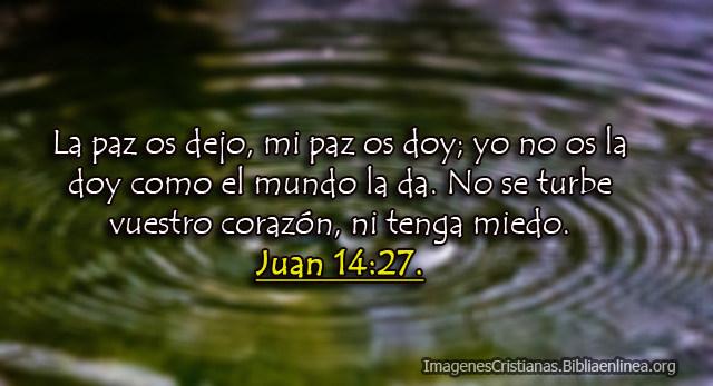 Imagenes de Juan 14-27 La paz