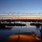 Proverbios: El camino de los justos ?