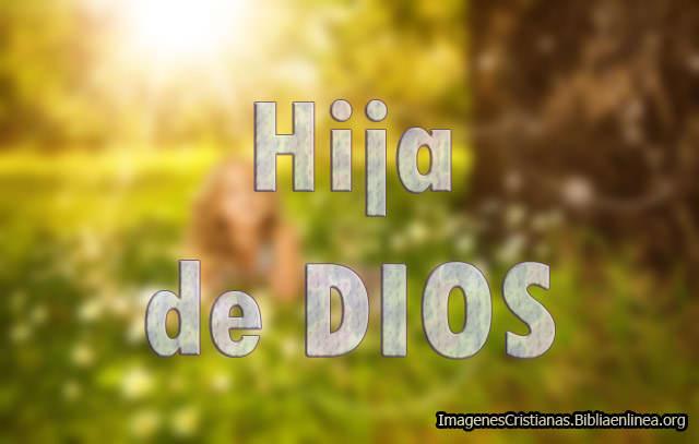 Hija de Dios Imagenes
