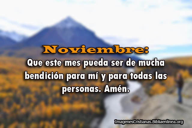 Imagenes Cristianas para noviembre