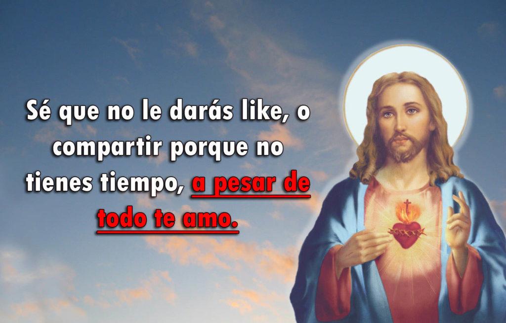 Imágenes De Jesús Con Frases Imagenes Cristianas