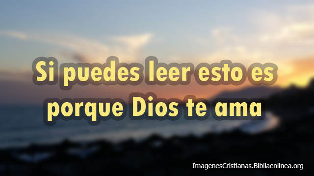 Dios te ama imagen