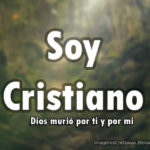 Imagen dice soy cristiano