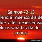 Imágenes de Salmos 72:13 Tendrá misericordia del pobre y del menesteroso