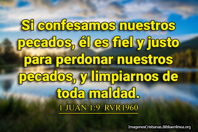 Si confesamos nuestros pecados Imagenes Cristianas