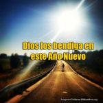 Imágenes cristianas Dios los bendiga en este Año Nuevo