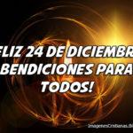 Feliz 24 de diciembre