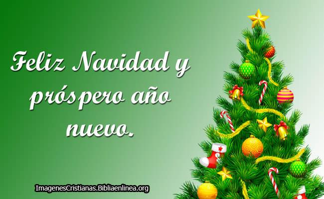 Feliz Navidad y prospero Año Nuevo Imagenes