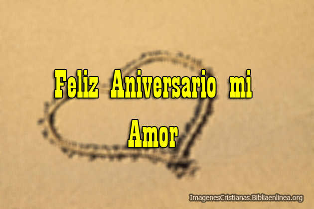 Feliz Aniversario mi Amor Imagenes Cristiana