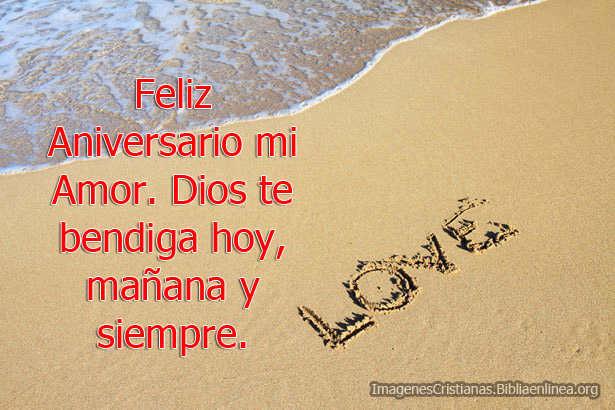Imagenes Cristianas De Feliz Aniversario Mi Amor
