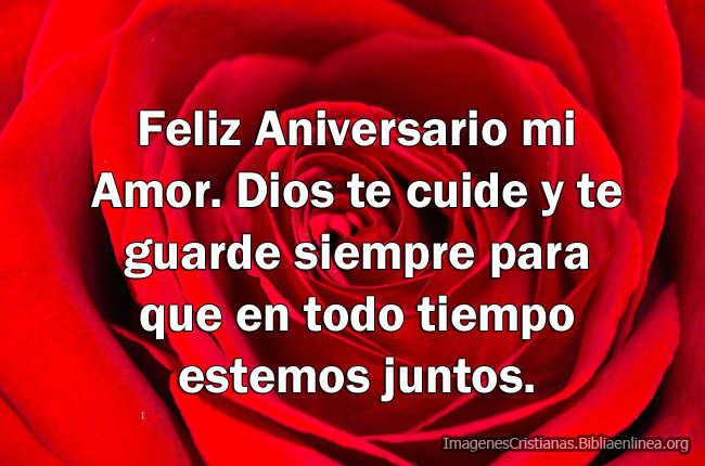 Feliz Aniversario Amor Frases: Imágenes Cristianas De Feliz Aniversario Mi Amor