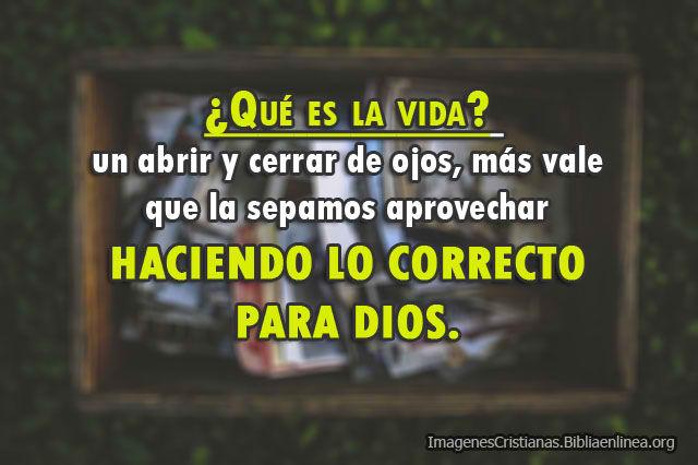 Reflexiones cristianas de la vida