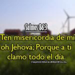 Imágenes Salmos 86:3 Ten misericordia de mí, oh Jehová