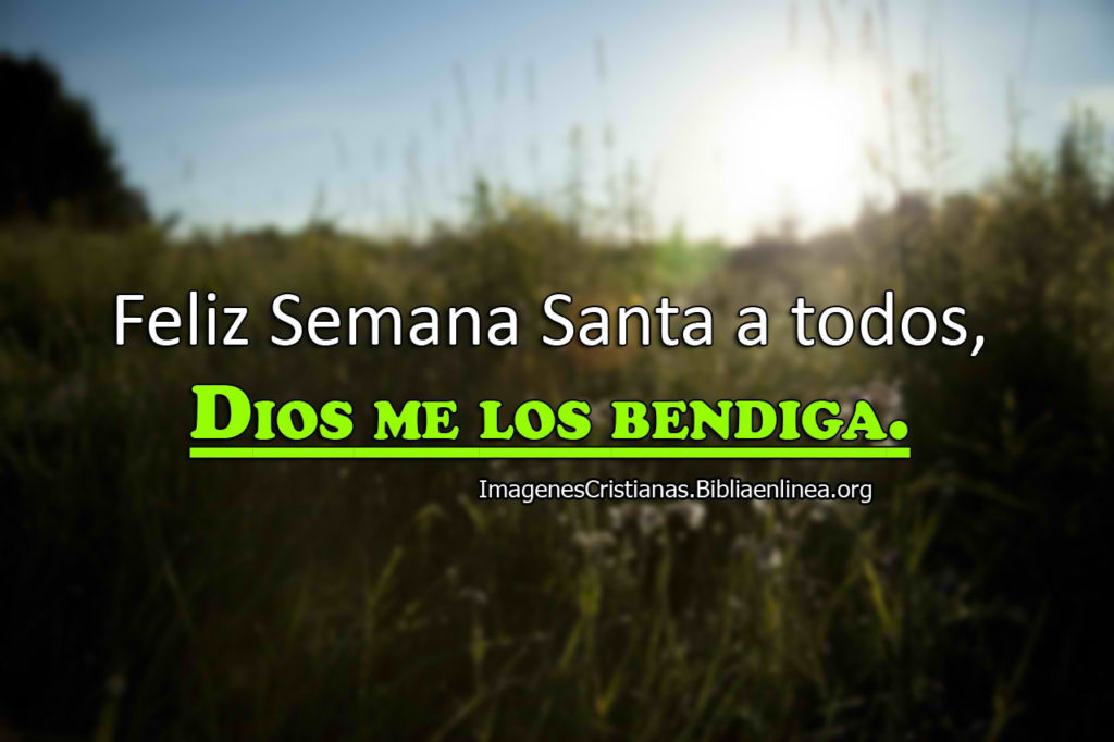 Imagenes Feliz Semana Santa