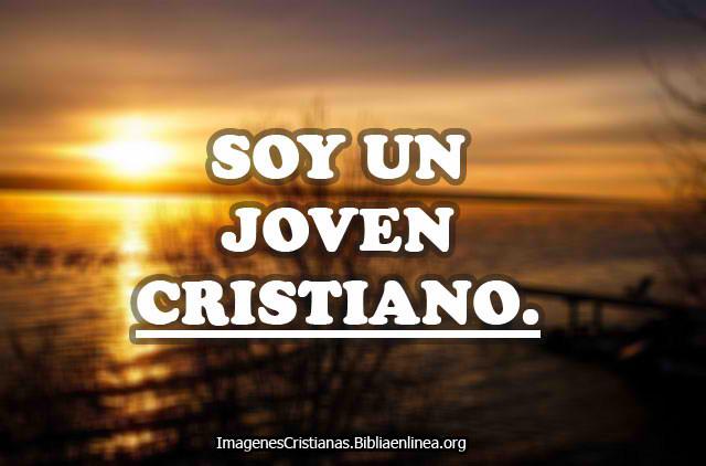 Soy un joven cristiano