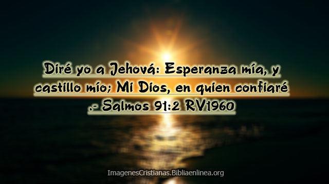 Diré yo a Jehová Esperanza mía