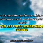Reflexiones Cristianas de la existencia de Dios