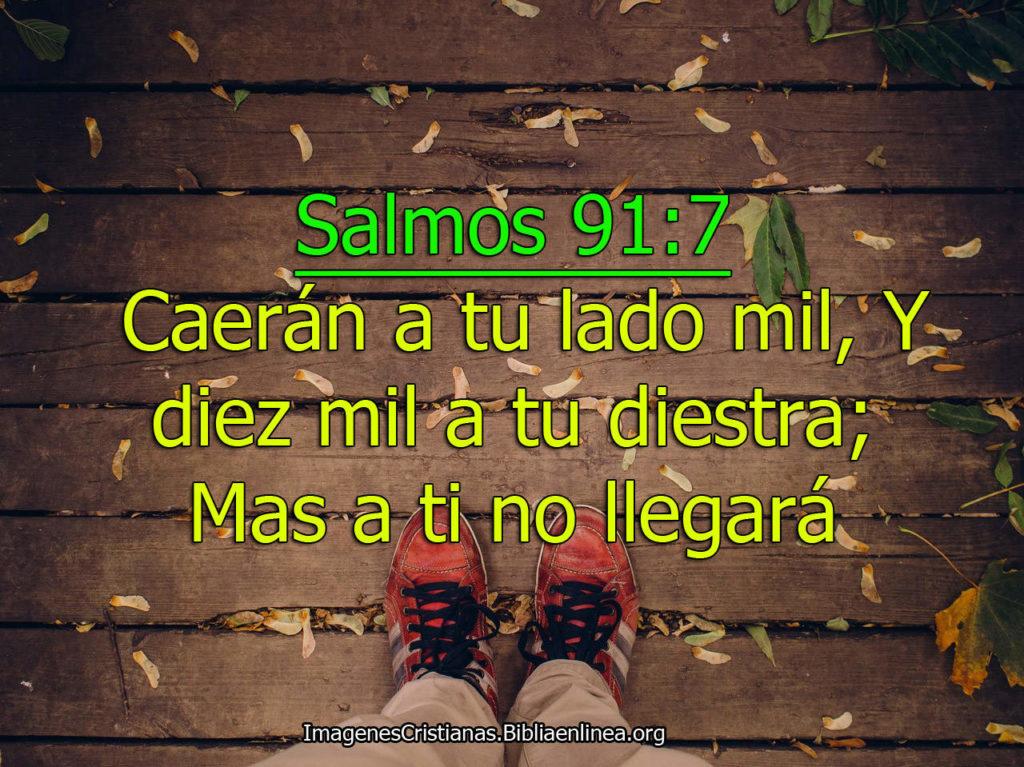 Salmos 91-7 caeran a tu lado
