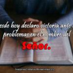 Imágenes Cristianas declaro victoria ante los problemas
