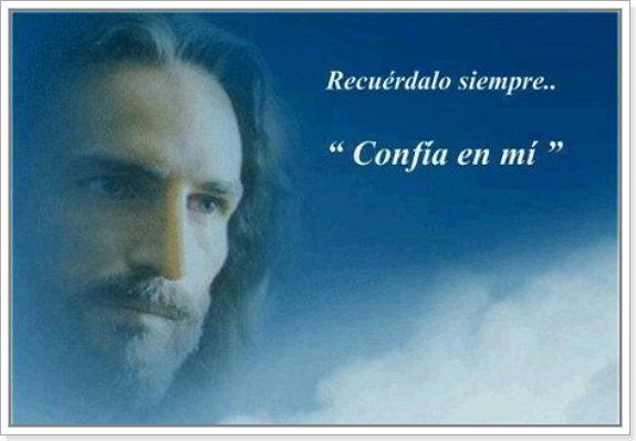 foto de Jesus con frase