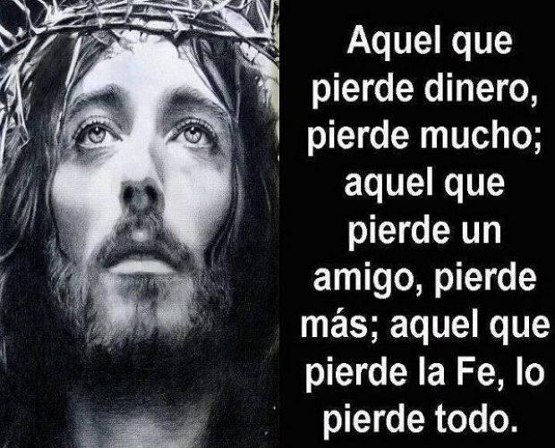 frase con foto de Jesus