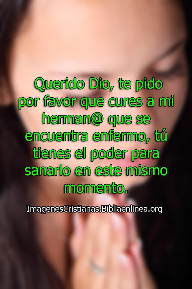 Oración para un hermano enfermo en Imagenes
