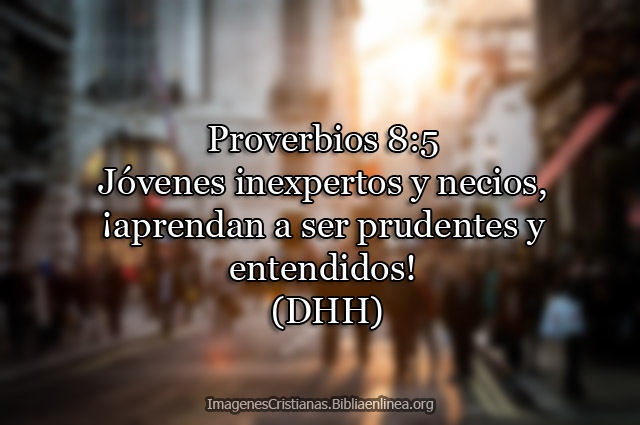 Proverbios aprender a ser prudentes