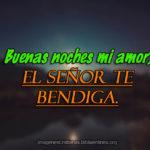 Buenas Noches Amor en Frases Cristianas con Imágenes