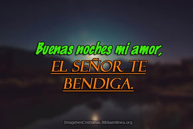Buenas Noches Amor En Frases Cristianas Con Imagenes