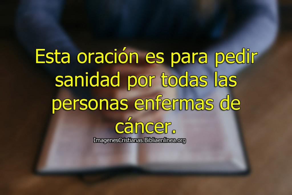 oraciones para personas con cancer imagenes cristianas