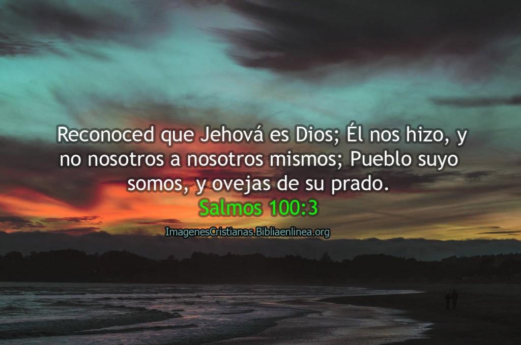 Jehova es Dios salmos imagen