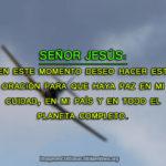 imagenes cristianas con oraciones pidiendo paz