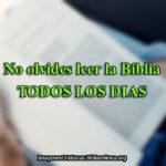 Imágenes Cristianas: No olvides leer la Biblia
