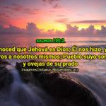 Salmos Reconoced que Jehová es Dios