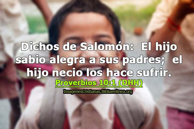 proverbios con imagen acerca de los hijos