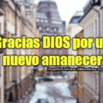 Imágenes Cristianas de gracias por un nuevo amanecer