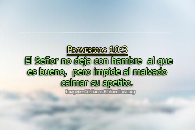 imagen con proverbios Dios no se olvida de los pobres