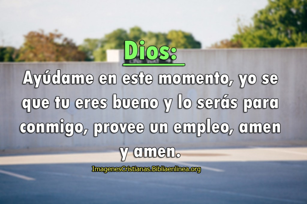 imagen para oracion pedir a Dios un trabajo