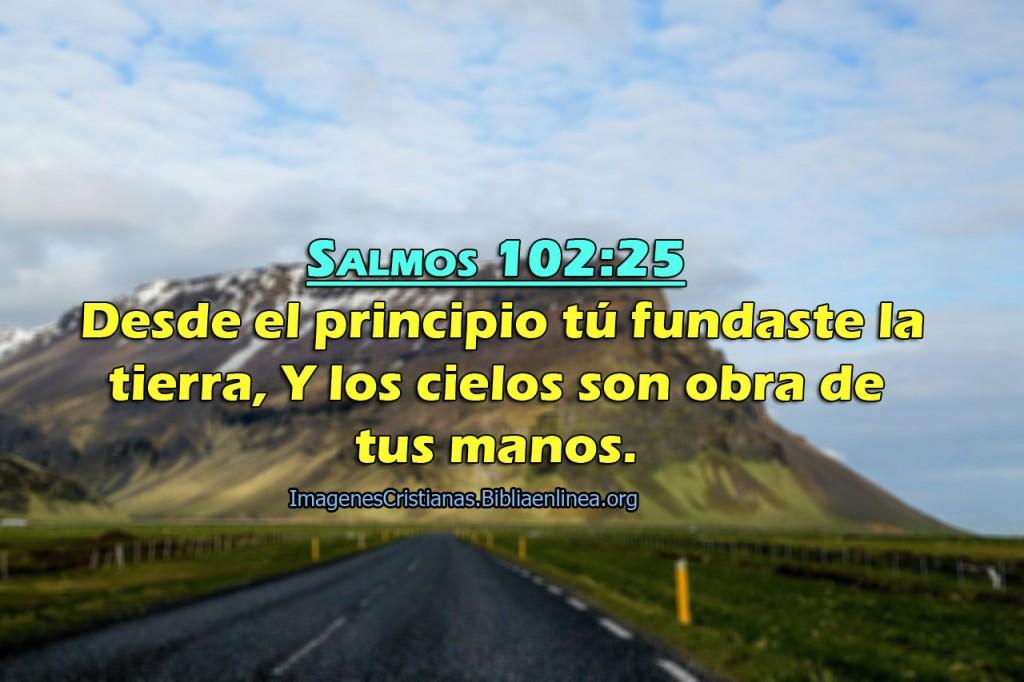 imagenes con salmos Dios fundo la tierra