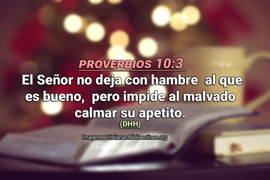 proverbios Dios no olvida de los justos