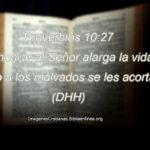 Proverbios acerca de honrar al Señor