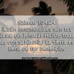 Salmos Cuán innumerables son tus obras (sem 45 – 16)