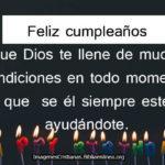 Frases cristianas para cumpleaños